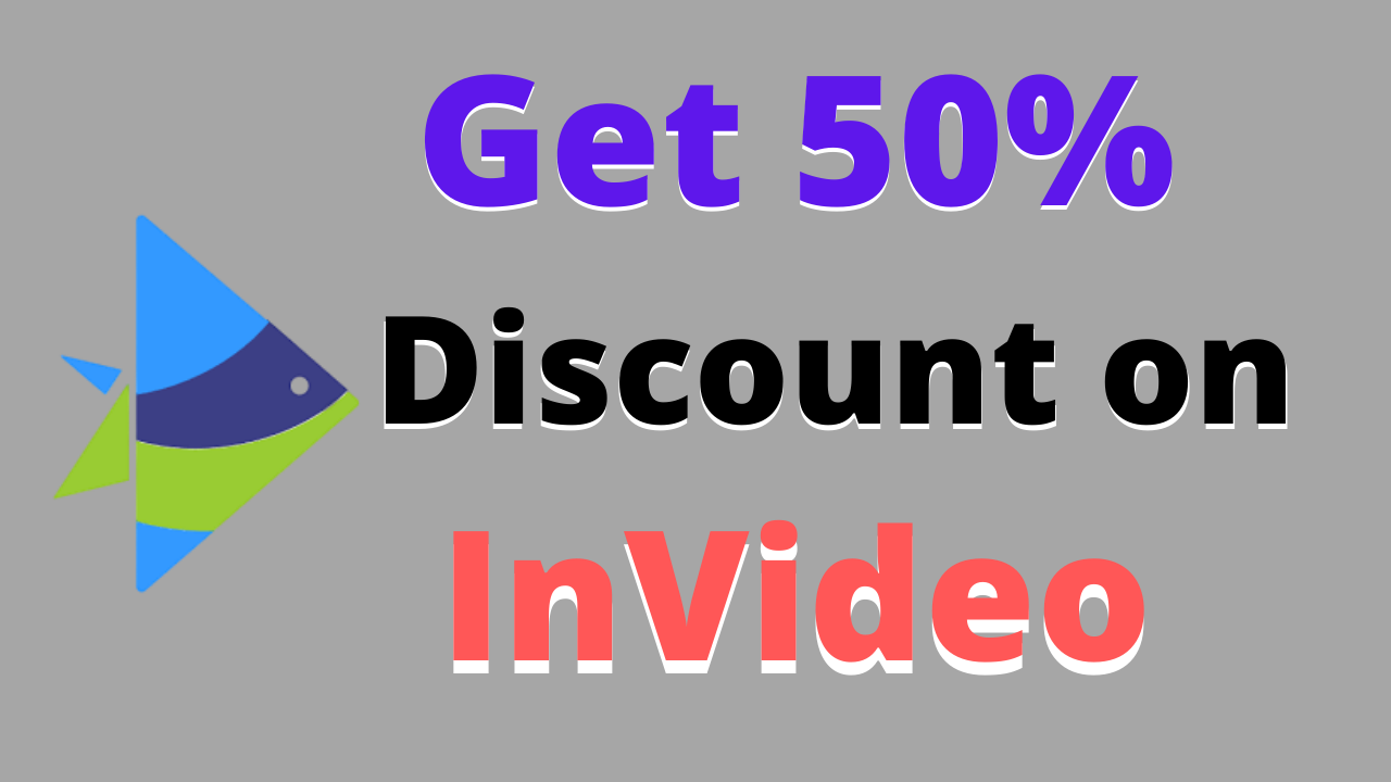 Invideo coupon with 50% discount & Honest Review