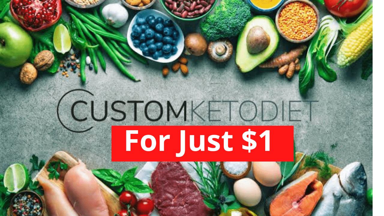 Custom Keto diet plan for 1$