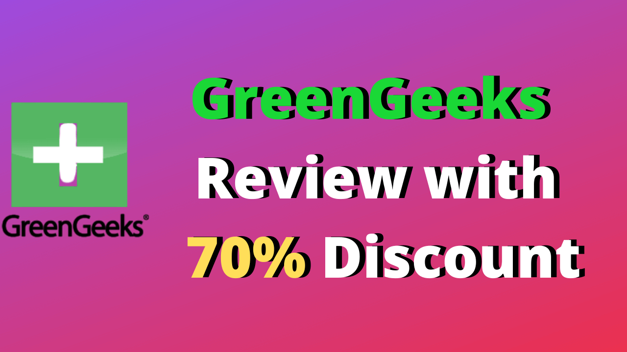 70% Off GreenGeeks Coupon,Promo code with Free Domain