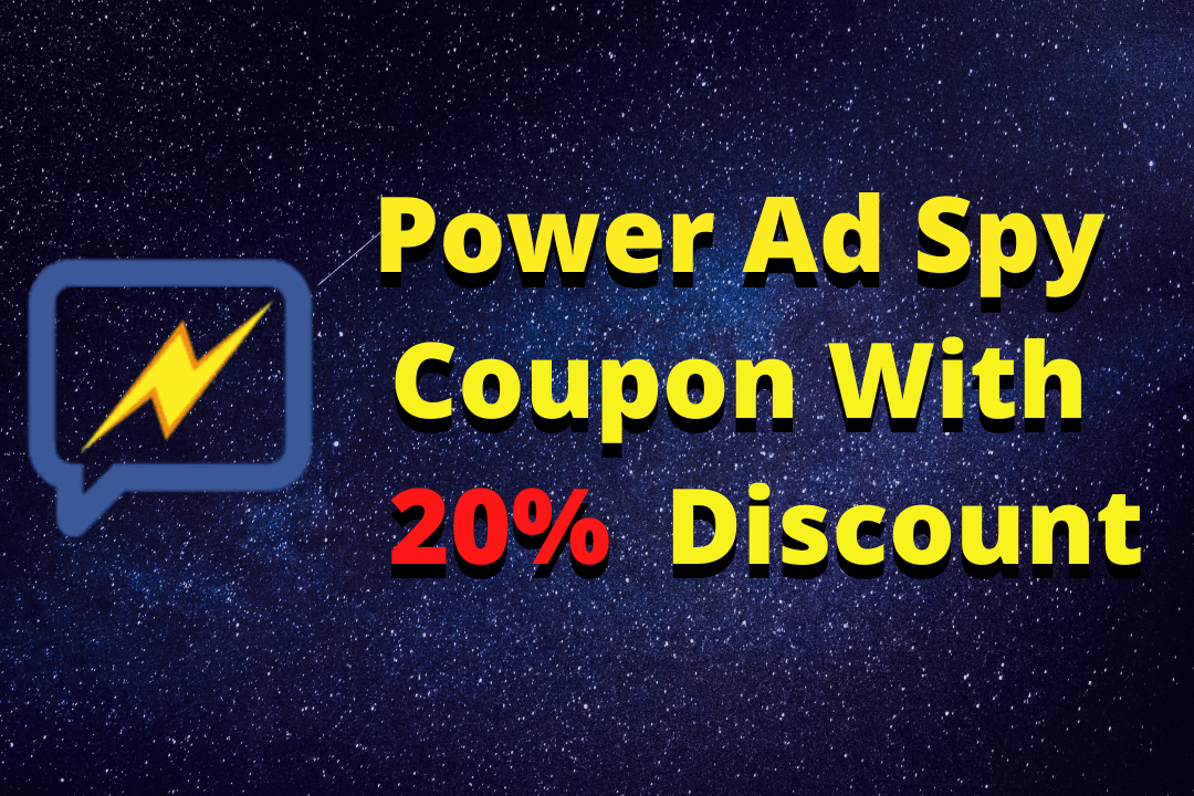 poweradspy coupon with 20% off great discount